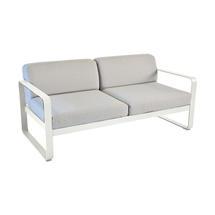 Bellevie Outdoor 2 Seater Sofa - Clay Grey/Flannel Grey