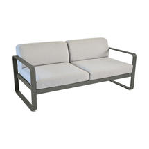 Bellevie Outdoor 2 Seater Sofa - Rosemary/Flannel Grey