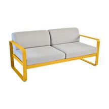 Bellevie Outdoor 2 Seater Sofa - Honey/Flannel Grey
