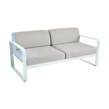 Bellevie Outdoor 2 Seater Sofa - Ice Mint/Flannel Grey