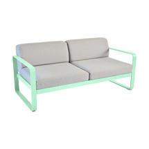 Bellevie Outdoor 2 Seater Sofa - Opaline Green/Flannel Grey