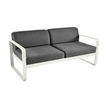 Bellevie Outdoor 2 Seater Sofa - Clay Grey/Graphite Grey