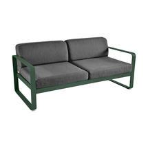 Bellevie Outdoor 2 Seater Sofa - Cedar Green/Graphite Grey