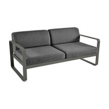 Bellevie Outdoor 2 Seater Sofa - Rosemary/Graphite Grey