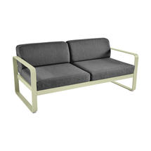 Bellevie Outdoor 2 Seater Sofa - Willow Green/Graphite Grey