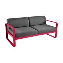 Bellevie Outdoor 2 Seater Sofa - Pink Praline/Graphite Grey