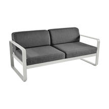 Bellevie Outdoor 2 Seater Sofa - Steel Grey/Graphite Grey