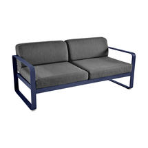 Bellevie Outdoor 2 Seater Sofa - Deep Blue/Graphite Grey