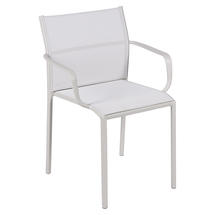 Cadiz Dining Chair with Arms - Stereo Clay Grey