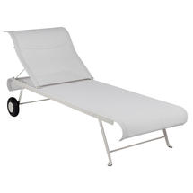 Dune Sunlounger - Stereo Clay Grey
