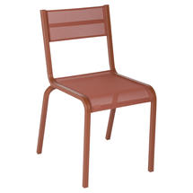 Oleron Chairs x 4 - Stereo Red Ochre