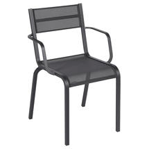 Oleron Armchairs x 4 - Stereo Anthracite