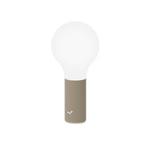 Aplo 24cm Table Lamp - Nutmeg