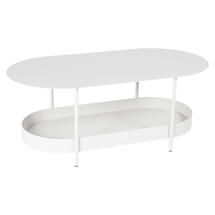 Salsa Low Table- Cotton White