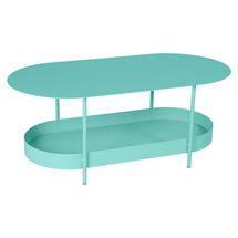 Salsa Low Table- Lagoon Blue