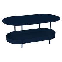 Salsa Low Table- Deep Blue