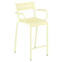 Luxembourg High Armchair - Frosted Lemon