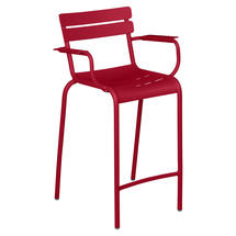 Luxembourg High Armchair - Chilli