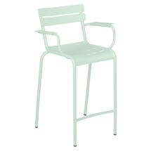 Luxembourg High Armchair - Ice Mint