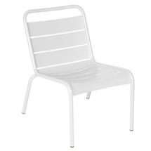 Luxembourg Lounge Chair- Cotton White