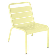 Luxembourg Lounge Chair- Frosted Lemon