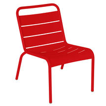 Luxembourg Lounge Chair- Poppy
