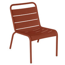 Luxembourg Lounge Chair- Red Ochre