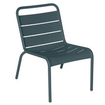 Luxembourg Lounge Chair- Storm Grey