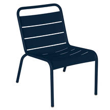 Luxembourg Lounge Chair- Deep Blue