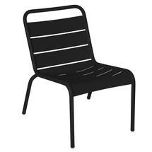 Luxembourg Lounge Chair- Liquorice