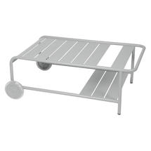 Luxembourg Low Table with Casters - Steel Grey