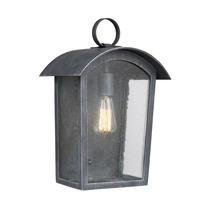 Hodges Large Wall Lantern - Ash Black