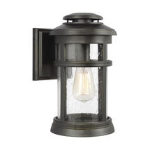 Newport 1 Light Wall Lantern Antique Bronze - Medium
