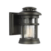 Newport 1 Light Wall Lantern Antique Bronze - Small