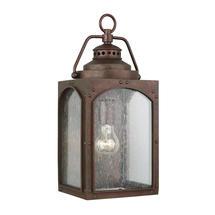 Randhurst 1 Light Medium Wall Lantern Copper Oxide