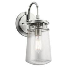 Lyndon Medium Wall Lantern - Brushed Aluminum