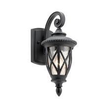 Admirals Cove 1 Light Wall Lantern Textured Black - Small