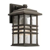 Beacon Square 1 Light Wall Lantern Olde Bronze - Medium
