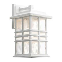 Beacon Square 1 Light Wall Lantern White - Medium