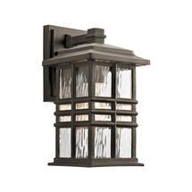 Beacon Square 1 Light Wall Lantern Olde Bronze - Small