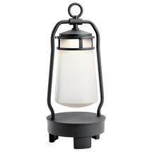 Lyndon Portable Bluetooth Speaker Lantern - UK Plug - Textured Black