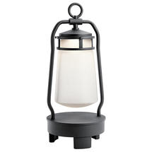 Lyndon Portable Bluetooth Speaker Lantern - EU Plug - Textured Black