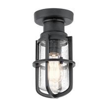 Suri 1 Light Porch / Pedestal Lantern Textured Black
