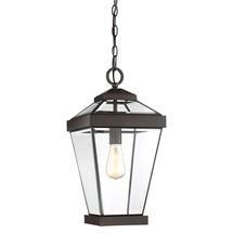Ravine Large Hanging Lantern - Western Bronze