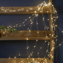 Cascading Micro 144 LED Bare Wire Lights Warm White