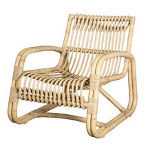 Curve Outdoor Lounge Chair - Natural