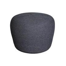 Circle Small Footstool - Dark Grey