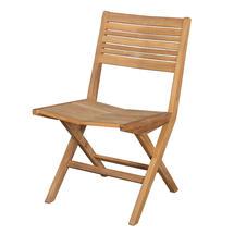 Flip Teak Folding Chair