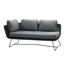 Horizon 2 Seat Sofa - Right Module - Black