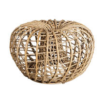 Nest Outdoor Small Footstool - Natural